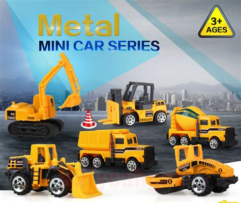 Baut Rivet Mobil Universal 200pcs Mainan Mobil Mobilan Truck Konstruksi Diecast Anak 6pcs Yellow Jakartanotebook