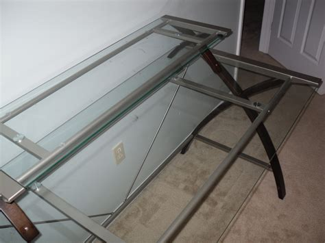 modern glass desk modern glass desk office and decor with regard to glass