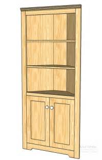 Corner Kitchen Cabinet Plans by Corner Cabinets Plans Plans For Building Furniture