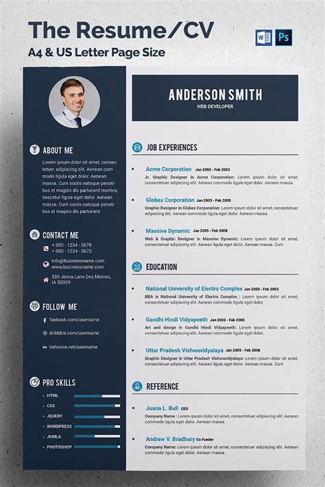web designer cv sample example job description career history ideas