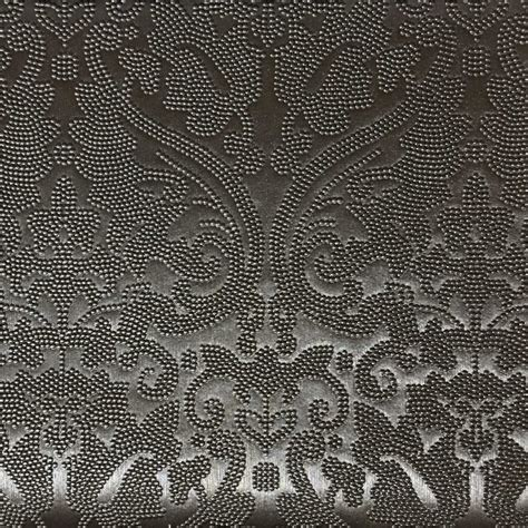 home upholstery fabrics lyon embossed damask pattern vinyl upholstery fabric by