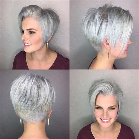 2017 S Hairstyles For Grey Hair by Hairstyle Grey 2017 4 Fashion And