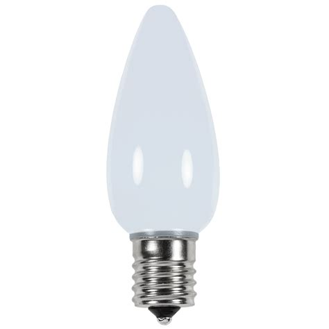 holiday living replacement led cool white christmas light bulbs c9 cool white smooth led light bulbs