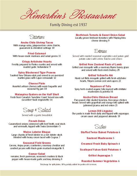 family menu template family dinner menu 3 template archive