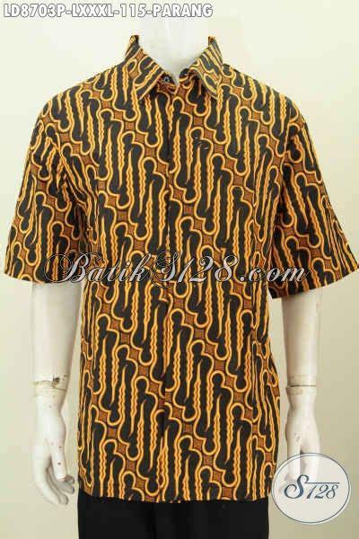Batik Sarimbit Gamis Parang Clasic batik hem motif parang klasik busana batik elegan lengan