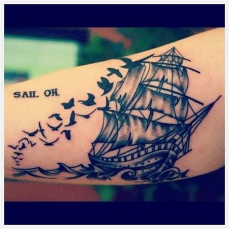 sailboat tattoo meaning 25 unique sailboat tattoos ideas on boat