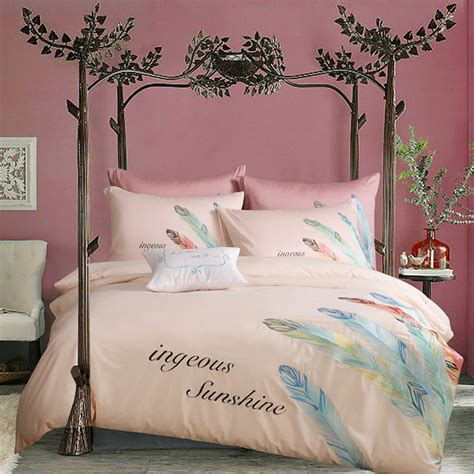 pattern comforter king size feather bed promotion shop for promotional king