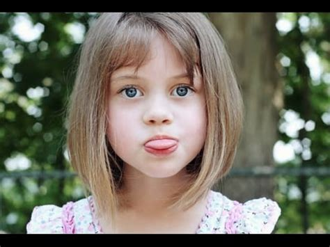 short hairstyles with bangs youtube short hairstyles for kids with bangs youtube