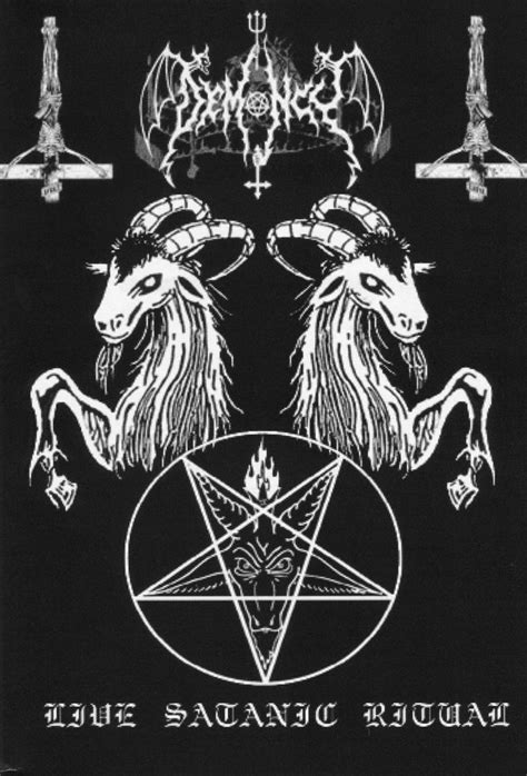 Demoncy - Live Satanic Ritual (Rebirth By Moonlight) (DVDr