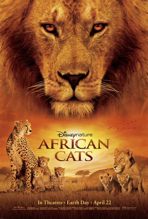 Watch The Cat 2011 Hollywood Movie Trailer African Cats 2011