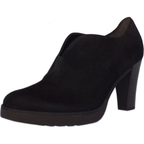 gabor boots roker black suede ankle boots mozimo