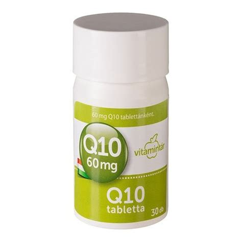 Vitamin Q10 b 233 res vitamint 225 r q10 60 mg tabletta 30db mind 246 ssze 1437 ft