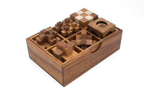 mini puzzle 1 wooden puzzle gift set of six puzzles wg 134