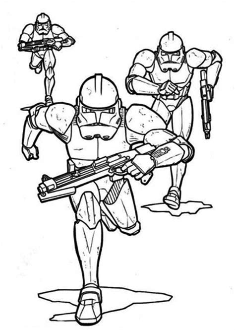 coloring pages of clone troopers trooper coloring page coloring home