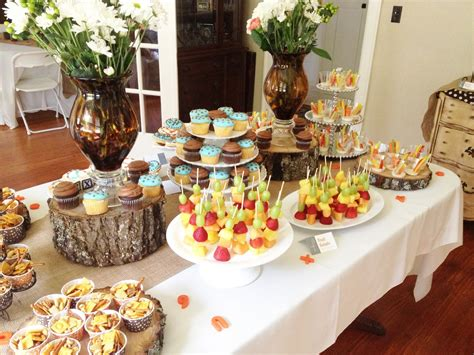 Boy Baby Shower Ideas On A Budget by A Rustic Baby Shower For Tucker In This Wonderful Life