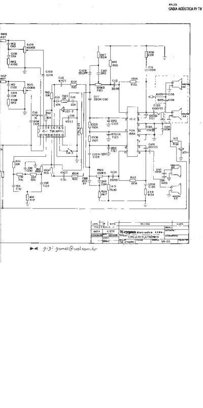 cygnus caixa amplificada va service manual repair