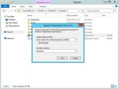 how to create a hyper v vm template without vmm oxford