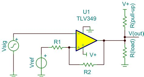 pull up resistor for comparator signal chain basics part 17 hysteresis understanding more about the analog voltage