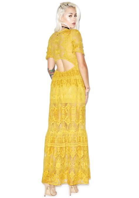 Seina Maxi for lemons maxi dress dolls kill