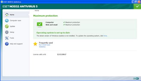 membuat virus c eset nod32 antivirus 5 0 94 0 username password
