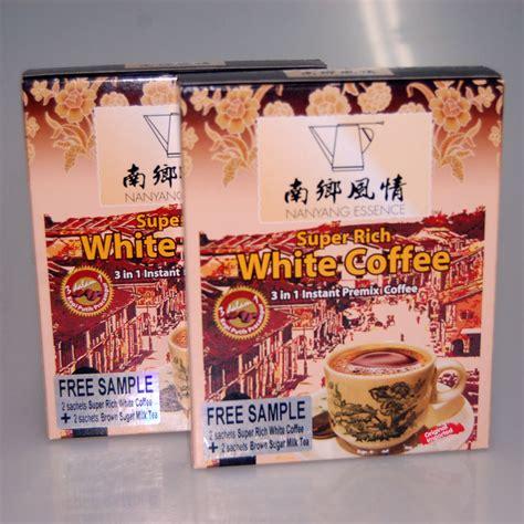 White Coffee Hazelnut charcoal roasted 3 in 1 hazelnut white coffee