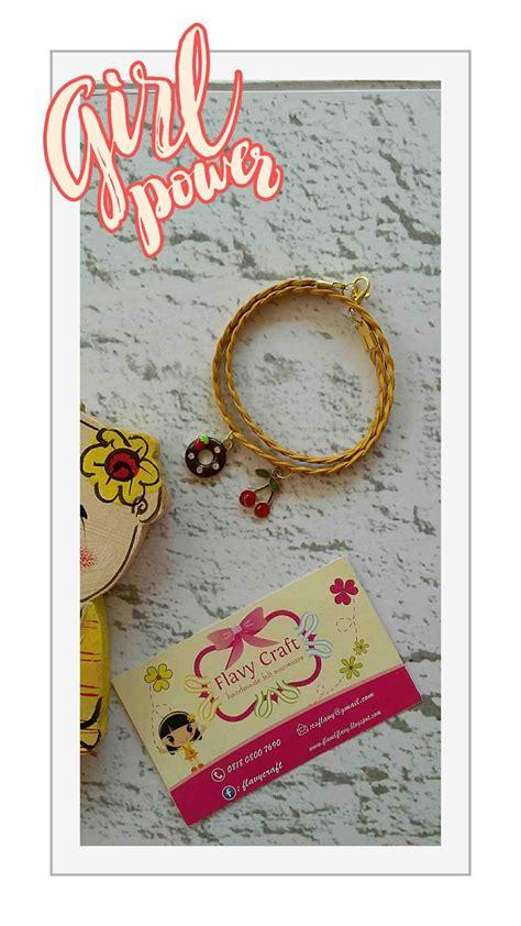 Custom Label Rajut Nthink flavy craft