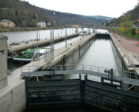 what does draft mean on a boat staustufe heidelberg wikipedia