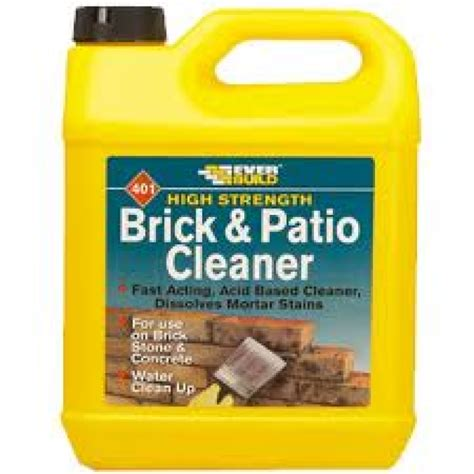 cleaning brick patio brick and patio cleaner 5 ltr midlandscapes codsall