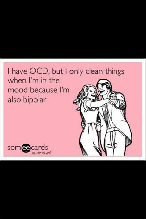 Funny Ocd Memes - best 25 bipolar funny ideas on pinterest funny bipolar