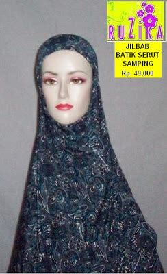 Stok Terbatas Jilbab Kerudung Anak Pita Serut ruzika