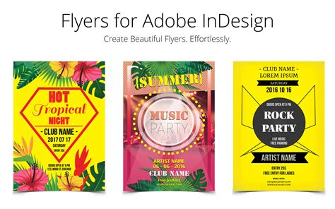 design flyer for mac flyer templates for indesign 1 0 download for mac macupdate