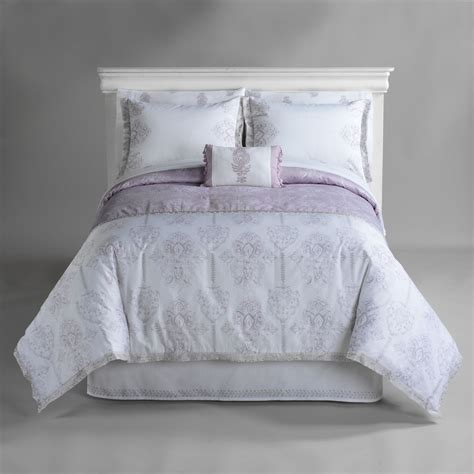 jaclyn smith today lilac zanzibar comforter set shop