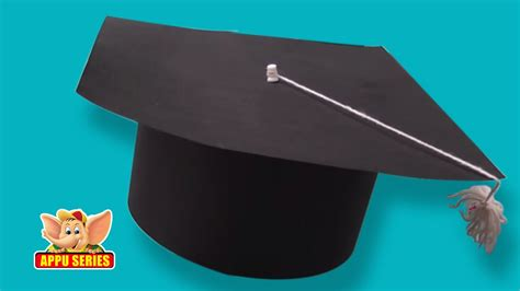 How To Make A Graduation Cap Out Of Paper - learn to make a graduation cap arts crafts