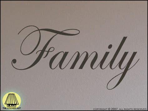 Light Grey Bedroom 124 family tatouage vinyl sticker