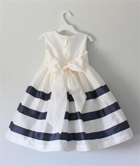 The Handmade Dress - the nautical dress handmade flower dress tulle