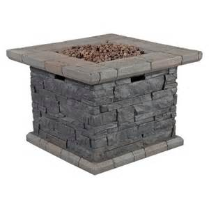 Target Fire Pit Table Capitol Peak 24 Quot Faux Stone Propane Fire Pit Table Target