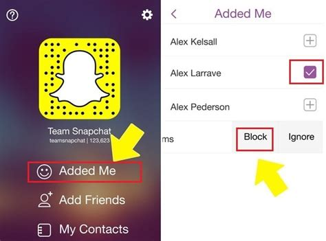 how tell someones snap best friends how to delete or block snapchat friends on iphone 6 6 plus
