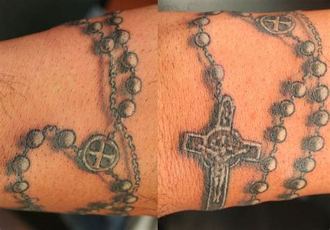 35 Lovely Rosary Tattoos   CreativeFan