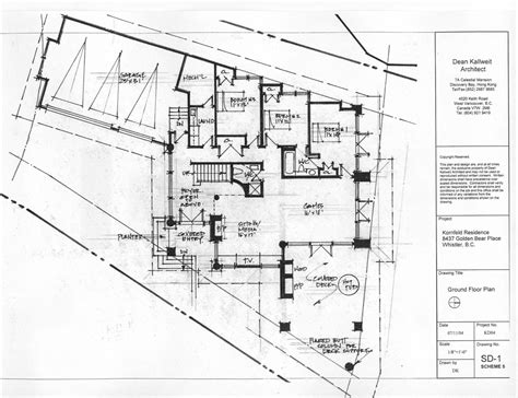 schematic floor plan schematic design dean kallweit architect