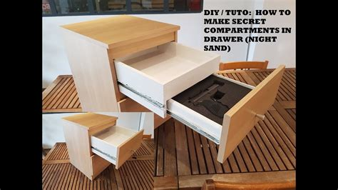 diy tuto    secret compartments  drawer