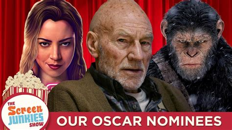 Oscar Nominations My Picks by Screen Junkies 2017 Oscar Nominations Our Academy Awards