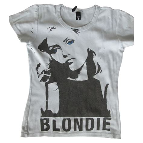 Tshirt 7music blondie tshirt search blondie tshirts