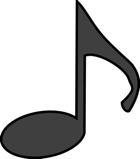 musical notes template note template clipart best