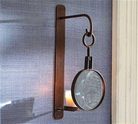 Votive Sconce magnifying glass wall mount votive sconce traditional candle holders candelabra by