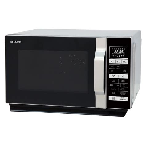 Sharp Microwave R 728s In 25 L sharp r860slm combination microwave oven in silver 25l 900w