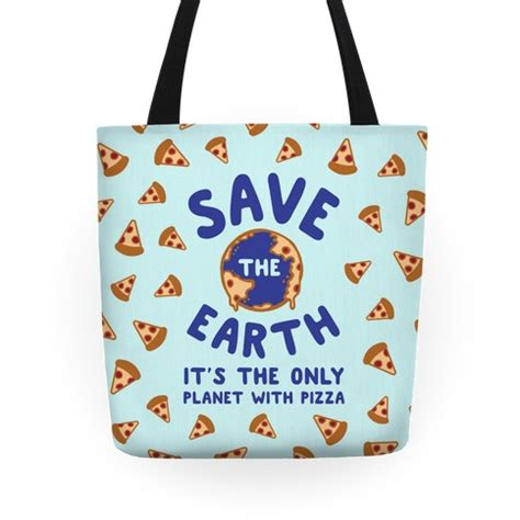 Bag The Look Save Some Bucks by Save The Earth Tote Bag Lookhuman