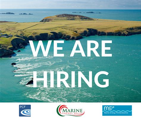 we are hiring for a marine energy project manager coast