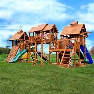 Really big swing sets traditional landscape other by kids