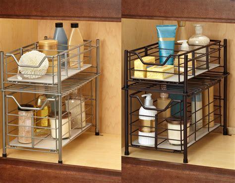 Deluxe Under the Sink Cabinet Drawer Storage Organizer