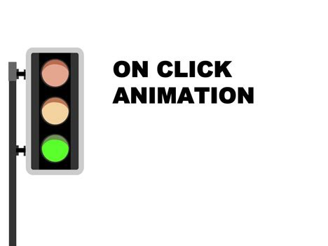 animation for powerpoint free animated traffic light powerpoint slide